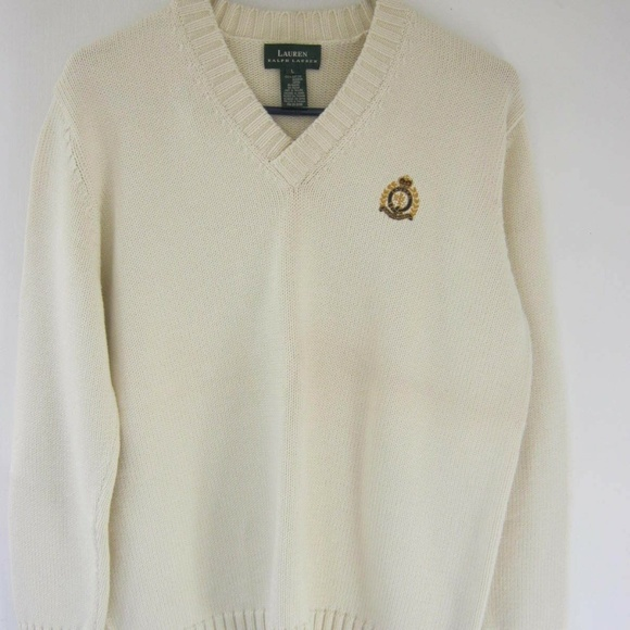 be8bbe799d02f7 Ralph Lauren Sweaters | Men Vneck Cable Knit Chunky Pullover | Poshmark